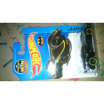 Hot Wheels Batman Batimobil Cromado Hw Ct Usa Card Lyly Toys
