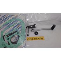 Pedal Marcha + Eixo + Jogo Juntas Motor Nx4 Falcon