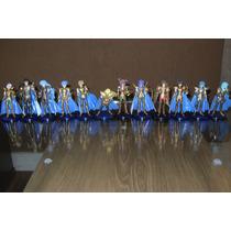 12 Cavaleiros Dos Zodiaco De Ouro - 12 Cm Novo Barato