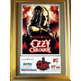 Ozzy Osbourne Ticket Entrada Original Tour Rusia 2007