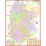 Mapa Geo Político Gigante Município Cidade De Belo Horizonte