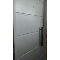 Puerta Doble Chapa Inyectada Con Barral 0.80x200