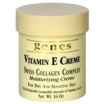 Genes Vitamina E Crema Suiza Colágeno Complejo Hidratante Cr