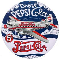Pepsi Cola Poster Metalico Vintage Retro Antiguo Dc-3 Toma P