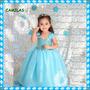 Vestido De Fiesta Frozen