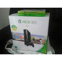 Xbox 360 Super Slim + Sensor Kinect E Jogos