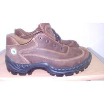 Zapato Bota De Seguridad Marca Sicura Talla 39