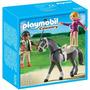 Playmobil Country 5229 Caballo Con Atleta Y Entrenador