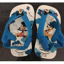 Havaianas Baby Mickey 17/18 **nunca Usada**