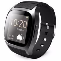 Reloj M26 Bluetooth Smart Led - Negro