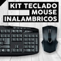 Kit Teclado Y Mouse Wireles Inalambricos Usb + Envio Gratis!