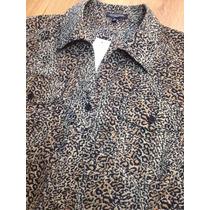 Camisa Animal Print Talle 2x