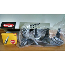 Kit Vela Ngk Lfr6b+ Bobina Bi0031mm Peug 206 207 2081.6 16v