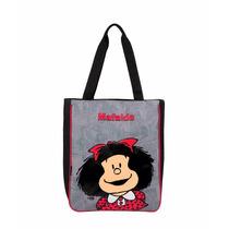 Bolso Escolar Para Niña Mafalda Mod. Ma59962-3 De Chenson