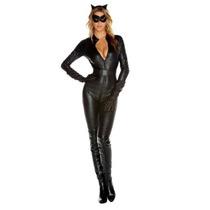 Disfraz Lujo Gatubela Catwoman Mujer Halloween