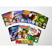 Label Cartuchos Nintendo 64 - Qualidade Garantida E Nitidez