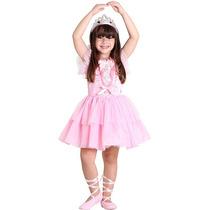 Fantasia Barbie Quero Ser Balirina Luxo G 21410
