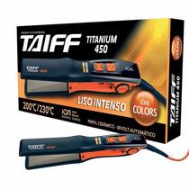 Prancha Profissional Titanium Taiff 450 Profissional Laranja