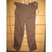 Pantalon Materno Talla 32 Pionier Drill Grueso B30