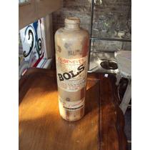 Antigua Botella De Barro Lucas Bols 3/4 Muy Antigua