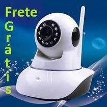 Camera Ip 1.3 Mp Wifi A.resolução Hd 720p Noturna - F.grátis