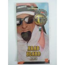 Barba Vestido De Lujo - Negro Árabe-palillo En Sheikh Falsa