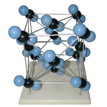 Modelo De Estructura Molecular En Cristal Quimica Organica
