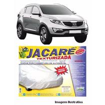 Capa Para Cobrir Carro Jacaré Forrada E 100% Impermeável P