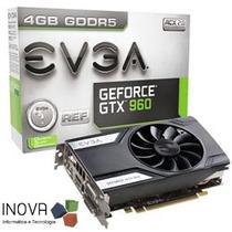 Placa De Vídeo Evga Geforce Gtx960 2gb Ddr5 128 Bits Pci-e