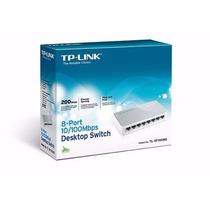 Hub Switch Tp Link Tlsf1008d 8 Portas 10/100mbps