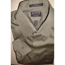 Elegante Camisa Arrow De Vestir T-s. 14 1/2. 32-33