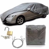 Capa Protetora Para Cobrir Carro Forrada Com Cadeado P M G
