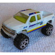1999 Chevrolet Silverado 4x4, Matchbox, Hecha En China 1998