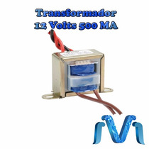 Transformador De 12 Vca, 500 Ma, Con Tap Central