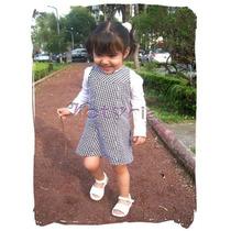 Vestido De Pata De Gallo Talla 4 Años