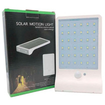 Lámpara 36 Leds Solar Sensor De Movimiento + Sensor De Luz