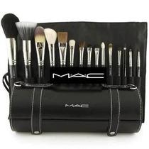 Estuche De Brochas Mac Para Maquillaje Profesional 16 Piezas