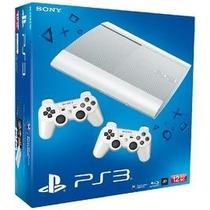 Playstation 3 Ps3 12gb Branco Super Slim Novo