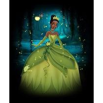 Disfraz O Vestido De Tiana, La Princesa Y El Sapo