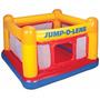 Brincolin Inflable Para Niños Jump-o-lene 174x174x112 Cm