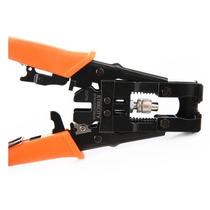 Crimpeadora Compresión Cable Coaxial 3 En 1 Cctv Directv