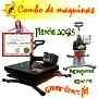 Maquina De Estampado, Franelas, Gorras, Kit, Curso