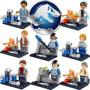 Genial Set De Jurassic World Figuras Compatibles Con Lego