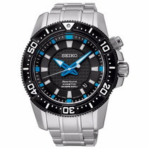 Relógio Seiko Kinetic Divers Sportura 5m62ag/1 Safira+frete