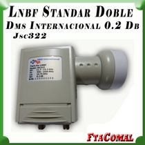 Lnb Doble Dms Internacional 0.2 Db Fta