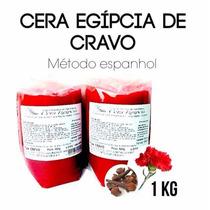 Cera Egipcia De Cravo 1kg - Cera Anestésica Para Depilação