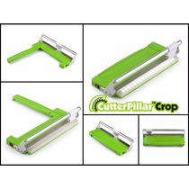 Scrapbook Cortadora Cutterpillar Crop Luz Portátil Papel New