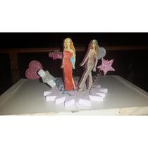 Adorno Barbie Para Torta