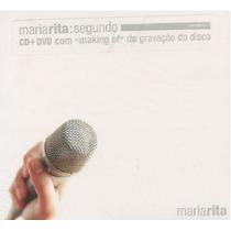 Maria Rita - Segundo - Cd+dvd - Frete Grátis
