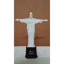 Imagem Replica Cristo Redentor Em Resina 21 Cm